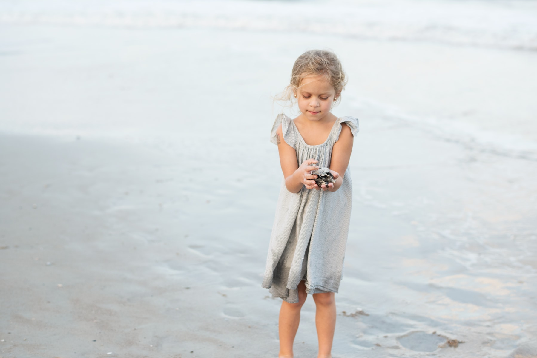 Beach portraits in Galveston