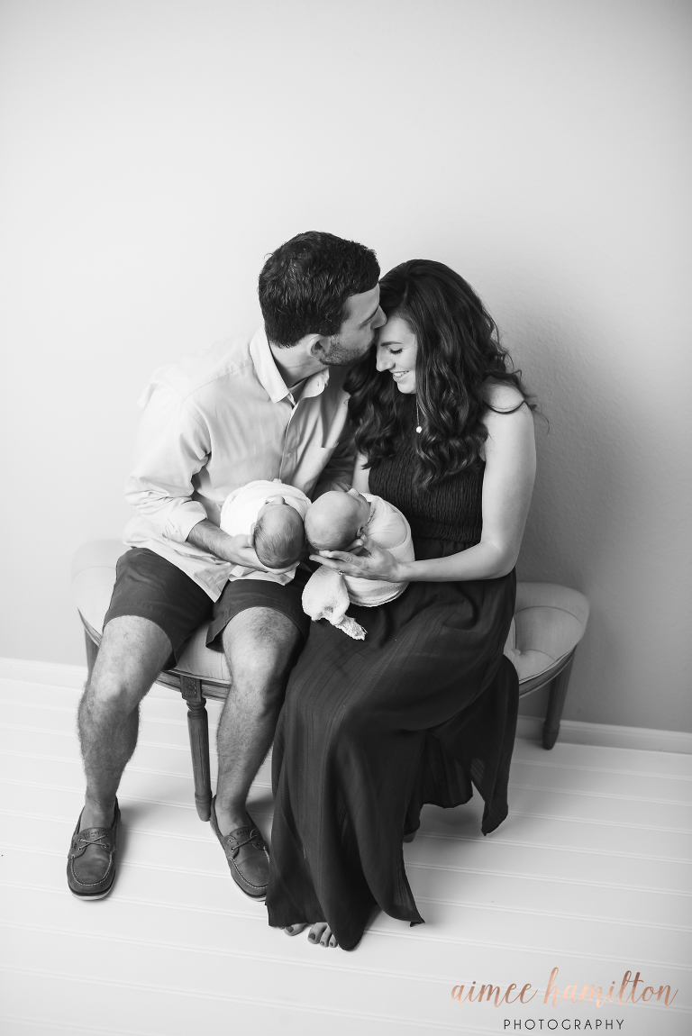 Woodlands Twin Newborn Photographer