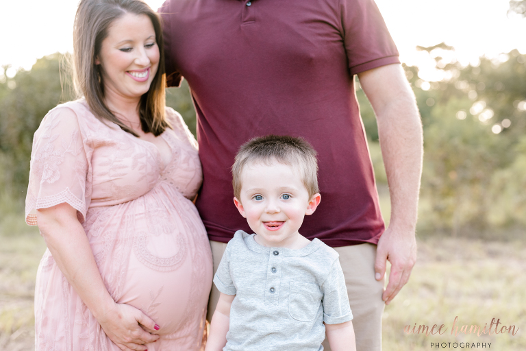Houston Outdoor Maternity Photographer