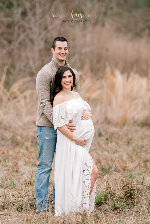 Maternity Photoshoot in FIllyboo dress