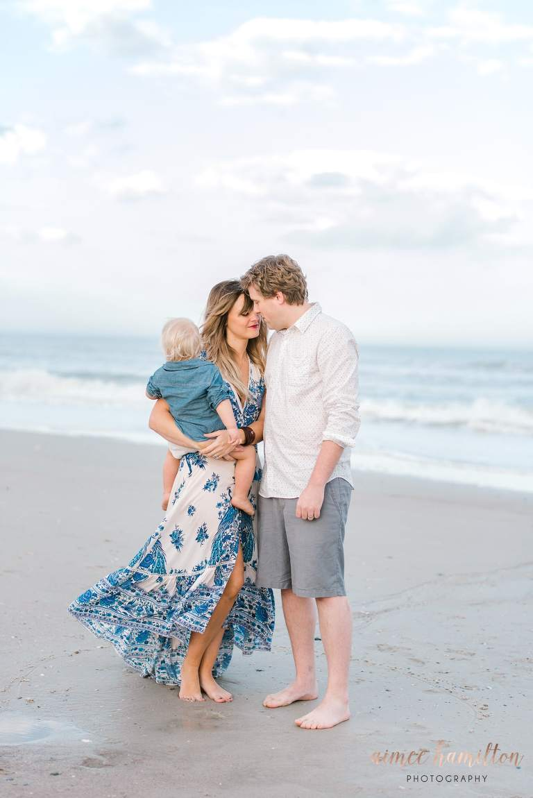 Galveston Beach family photography