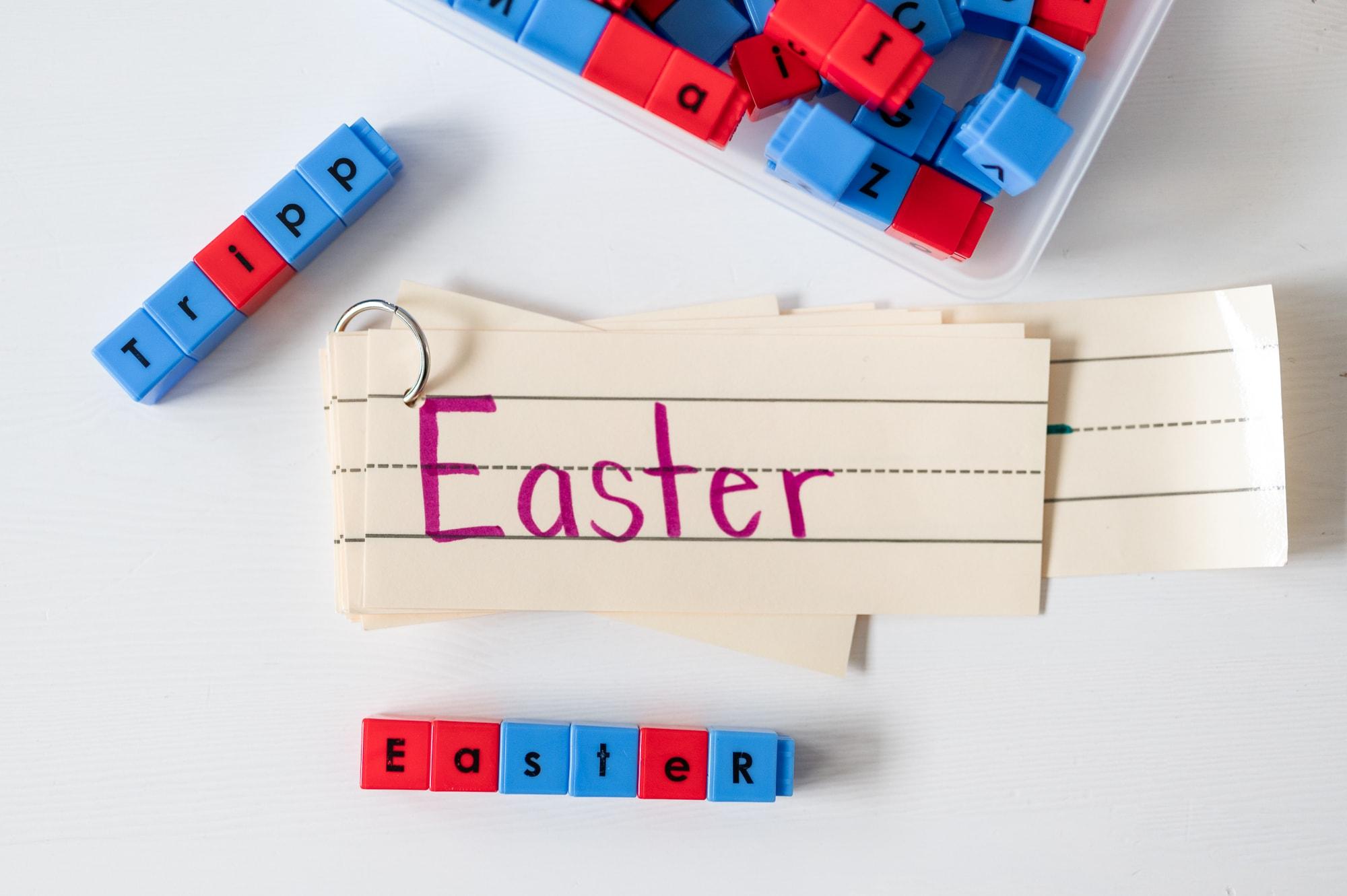 homeschool word building activities