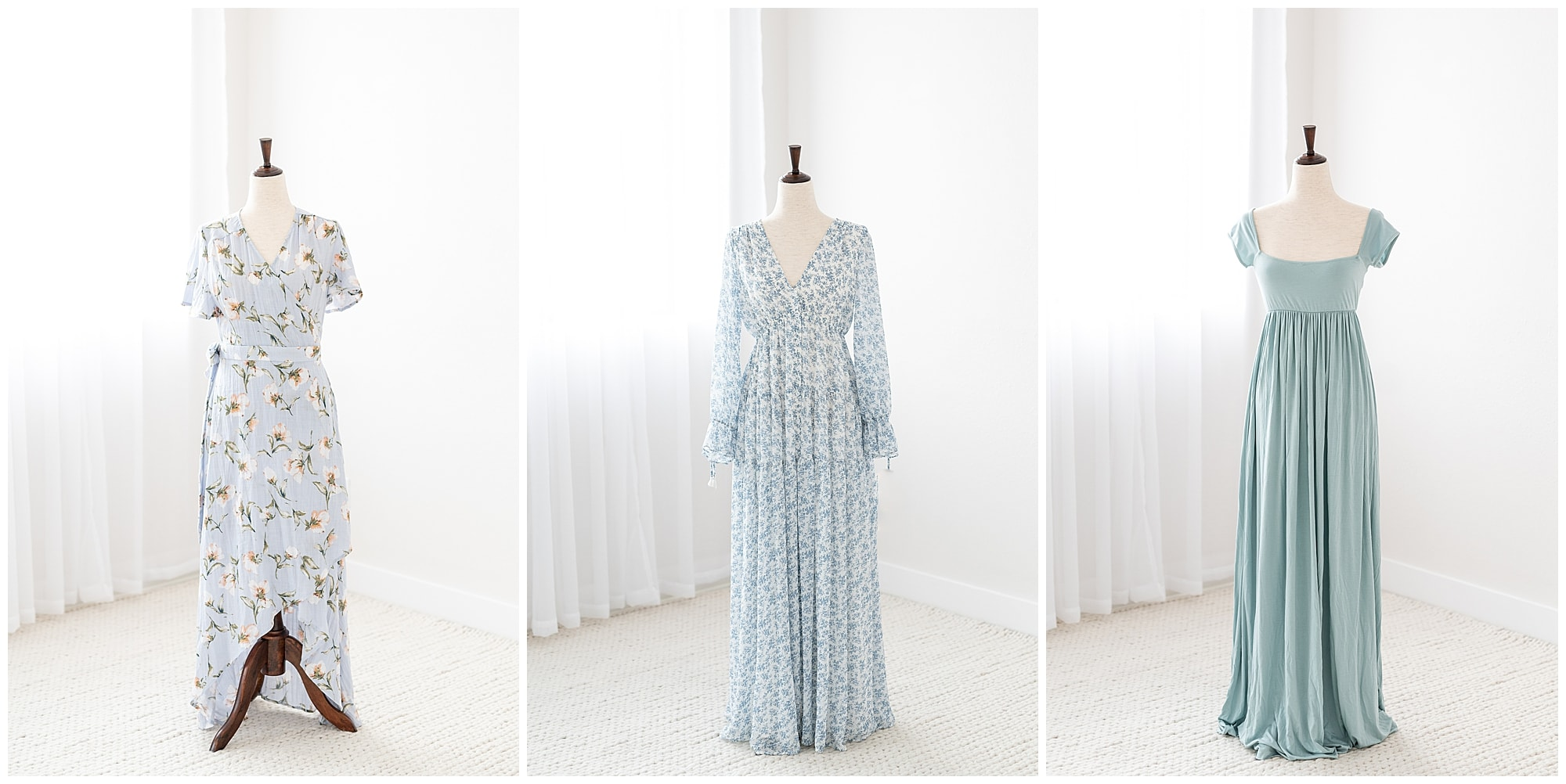 Frisco Newborn Photographer Studio Wardrobe Options