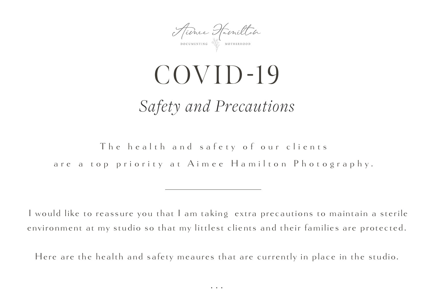 AHP Studio updates for Coronavirus