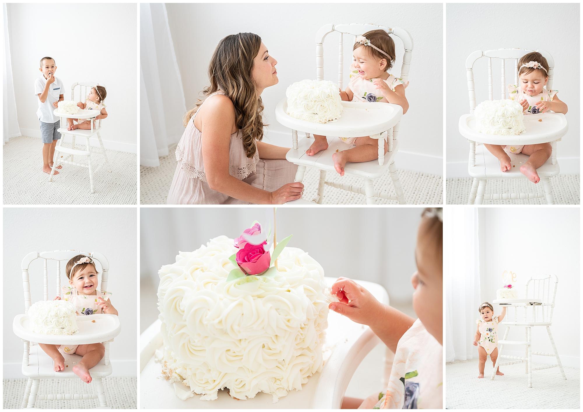 McKinney Cake Smash photoshoot