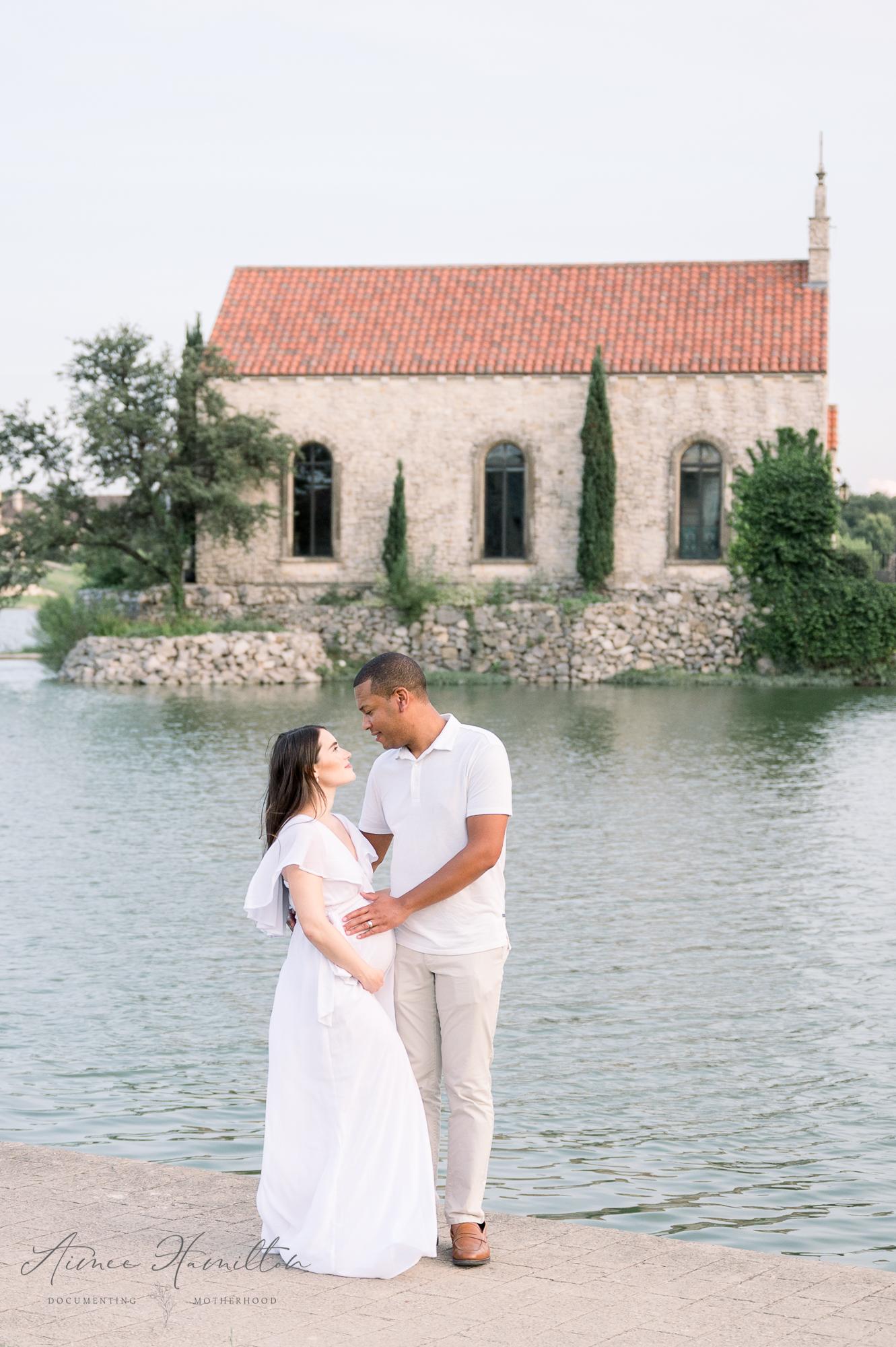 Adriatica Village Maternity Photo