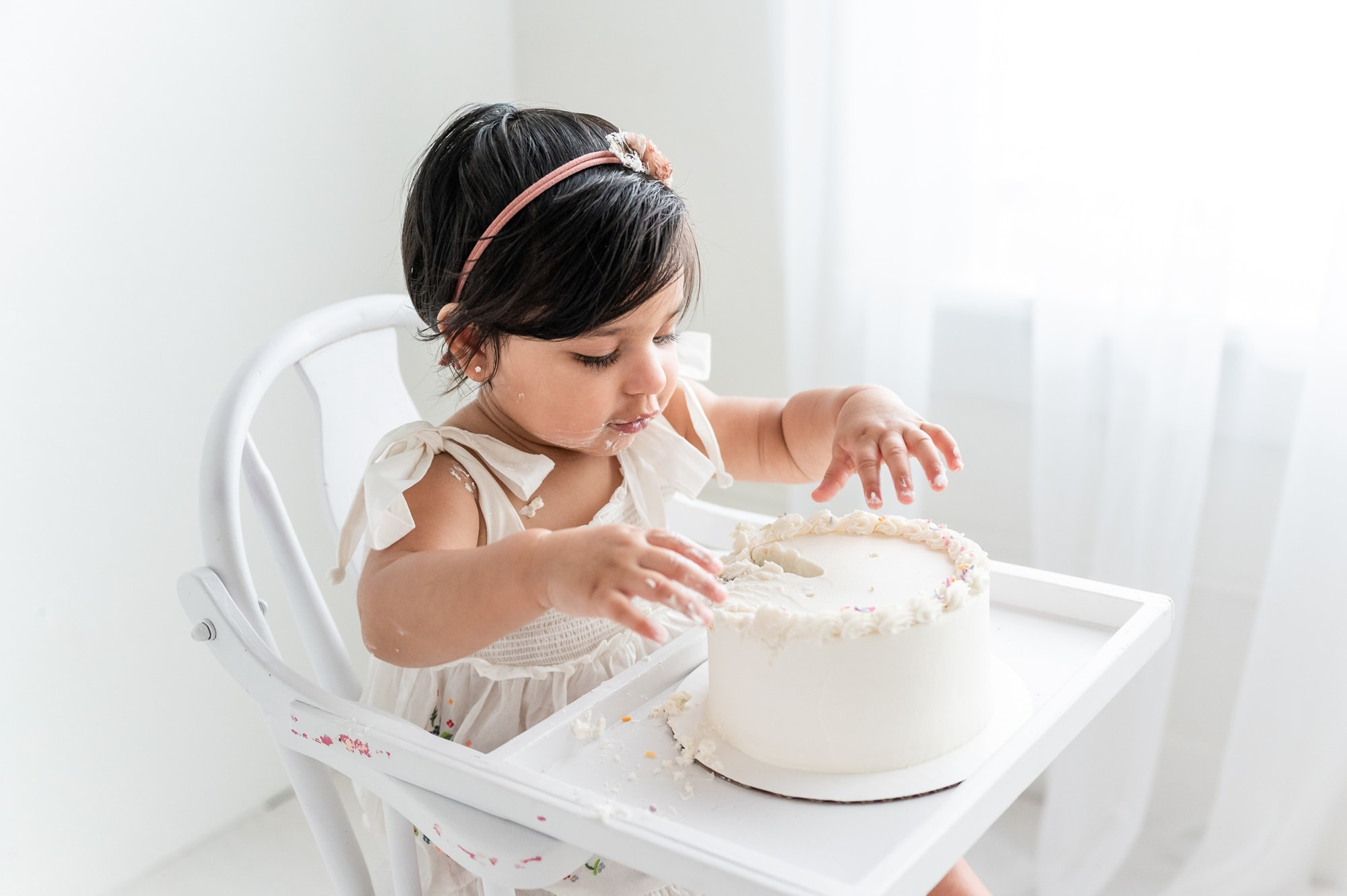 Light and airy cake smash in mckinney