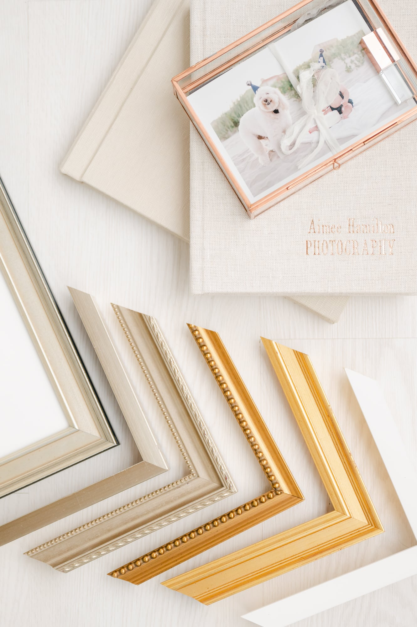 Dallas' luxury newborn photographer offers albums for preserving memories