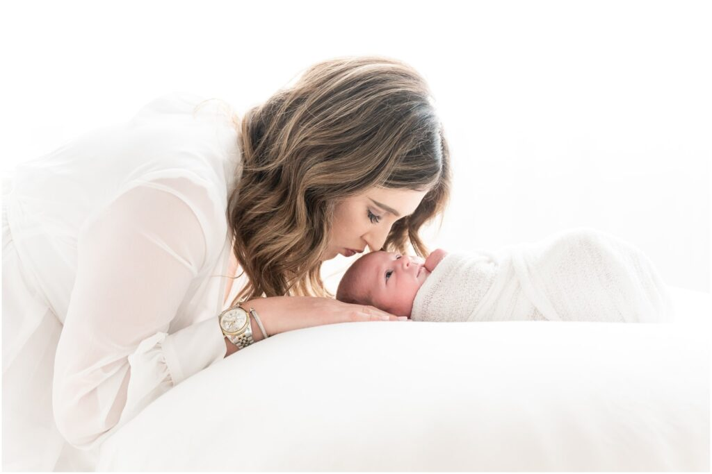 dallas studio newborn photography