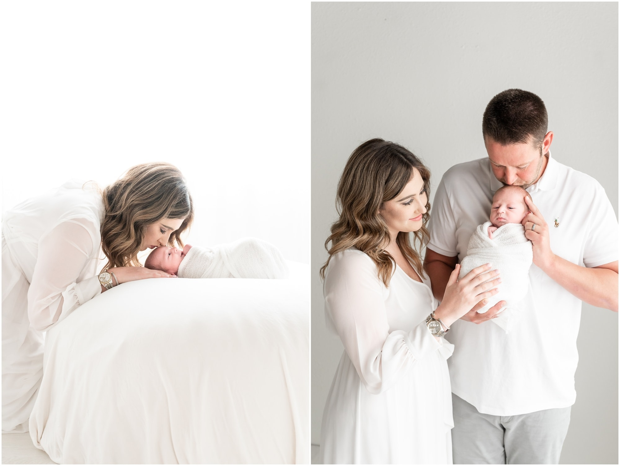 Dallas Texas family photography with a newborn