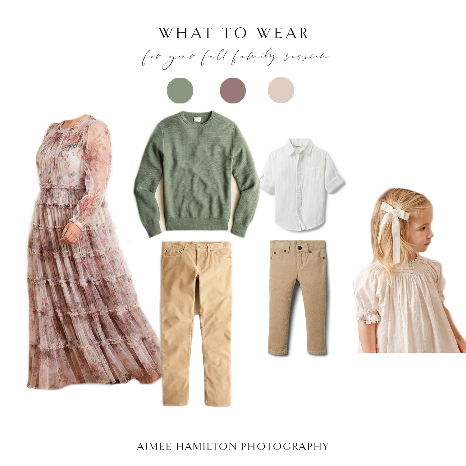 fall family what to wear